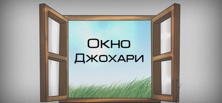Окно Джохари. Четыре аспекта Личности