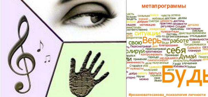 Как мы собираем информацию из внешнего мира? 3 метапрограммы нашего мозга
