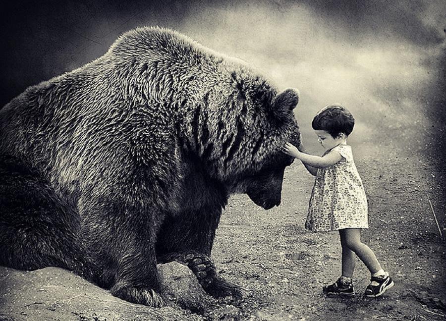 сильные и слабые стороны_малышка и медведь